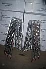 Hliníkové nájezdy (sada 2 kusů + upínací pásy)