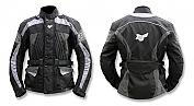 Bunda style New Fury černo/šedo/modrá