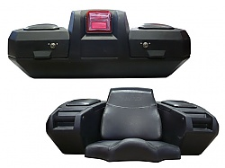 box Kimpex Deluxe ATV rear box black
