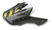 MX náhradní kšilt R/D Graphic Gun Matt