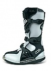 Boty W2 BOOTS MX KIDS YOUTH-X Black/White