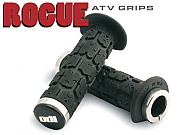 ROGUE ATV grips 120 mm BLACK LOCK-ON