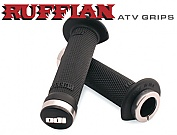 RUFFIAN ATV grips 120 mm BLACK LOCK-ON
